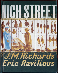 High Street by Eric Ravilious
