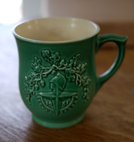 festival of britain ceramic mug