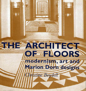 Marion Dorn architect of floors book