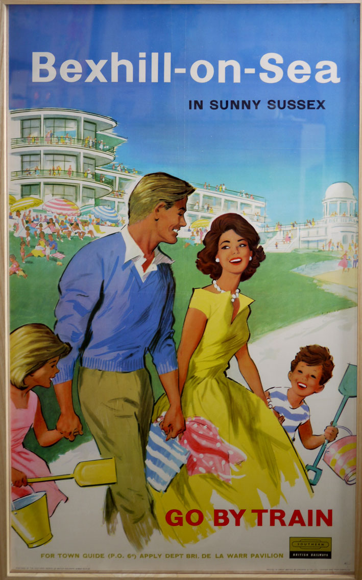 Bexhill Southern Railway poster