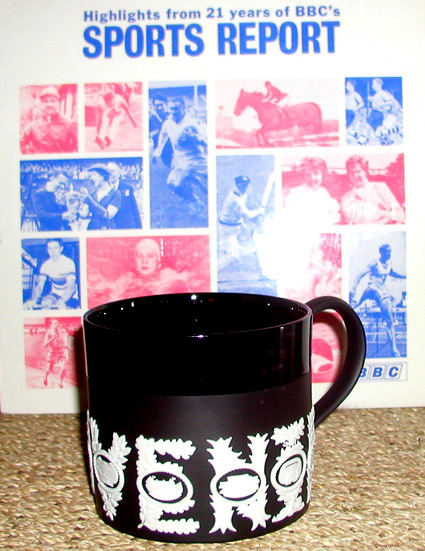 Wedgwood sport events commemorative tankard