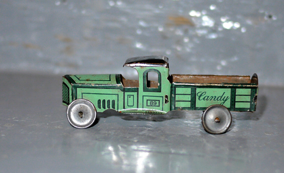 tinplate penny toy by Gely