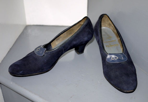 Churches midnight blue court shoes